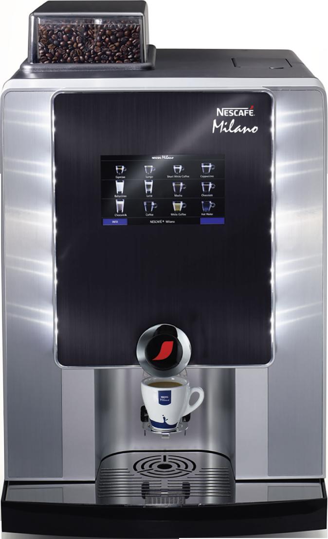 Kaffeemaschine Milano MTS60E