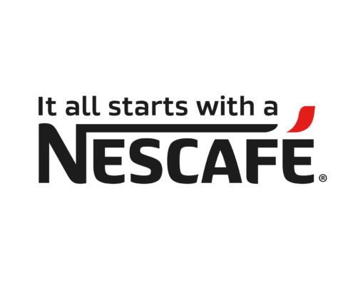 It all starts with a Nescafe
